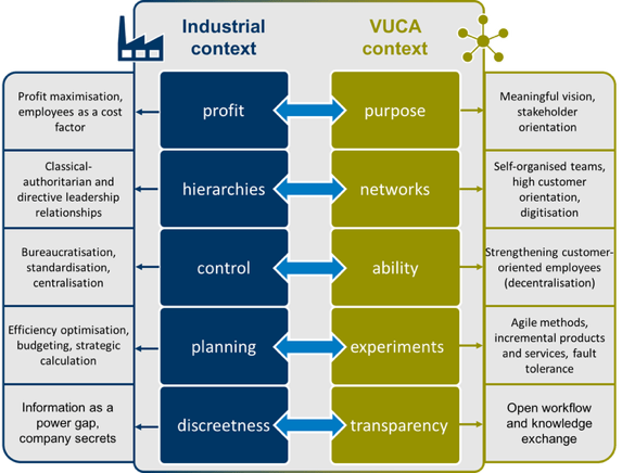 VUCA change