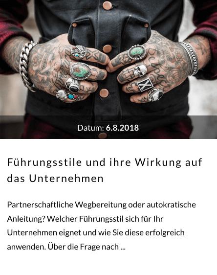 Fuehrungsstile